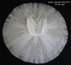 White Classical Ballet Tutu - Dance Competition RAD  Genee Challenge