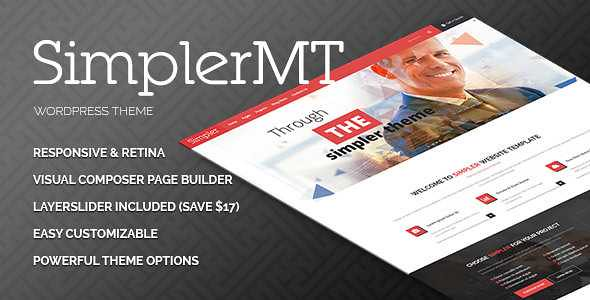 Simpler WordPress Theme free download