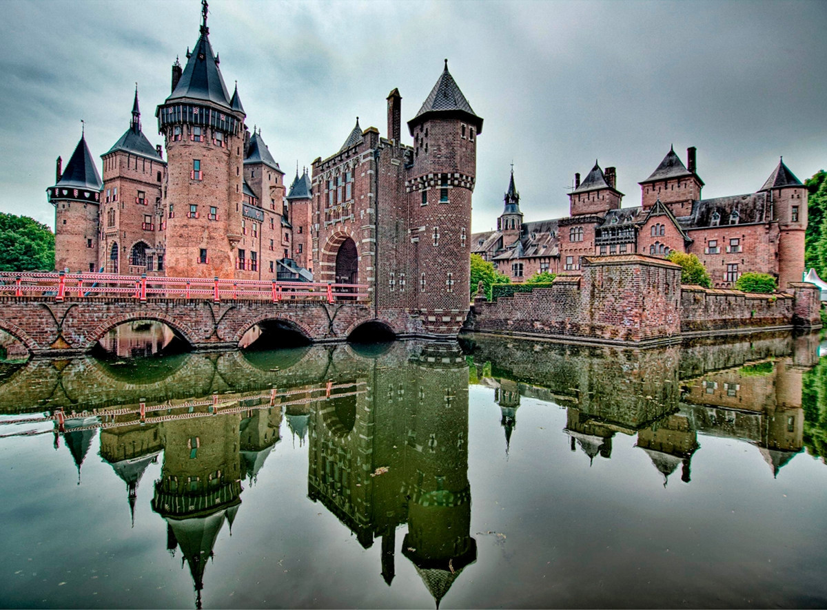 Castle de Haar. Credit Jim van der Mee, flickr