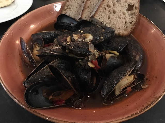 Steamed mussels - Rapp Session
