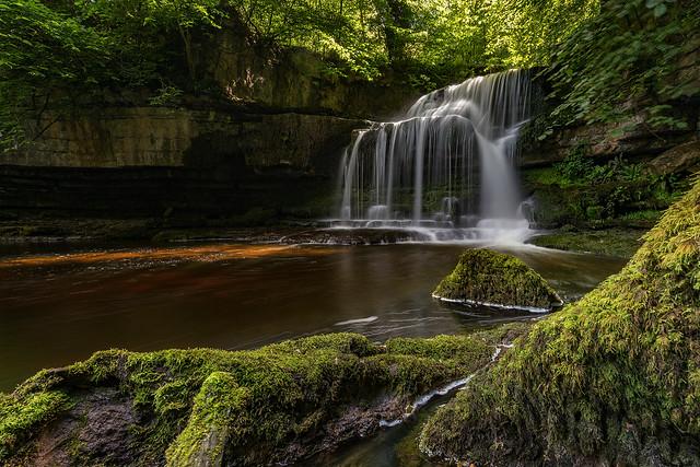 West Burton Falls (Cauldron Falls), Yorkshire Dales