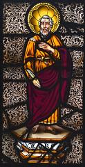 St Luke (Charles Clutterbuck, 1848)