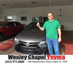 #HappyBirthday to Jim from Christopher Joseph at Wesley Chapel Toyota!