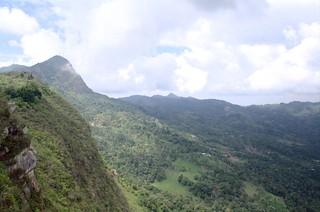 View from the Cerro del Quininí
