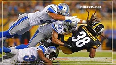 Pittsburgh Steelers vs Detroit Lions Live Stream