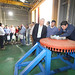 Durante la visita, los asistentes pudieron ver en terreno el funcionamiento de las nuevas tecnologías presentes en la planta de Swanson Industries