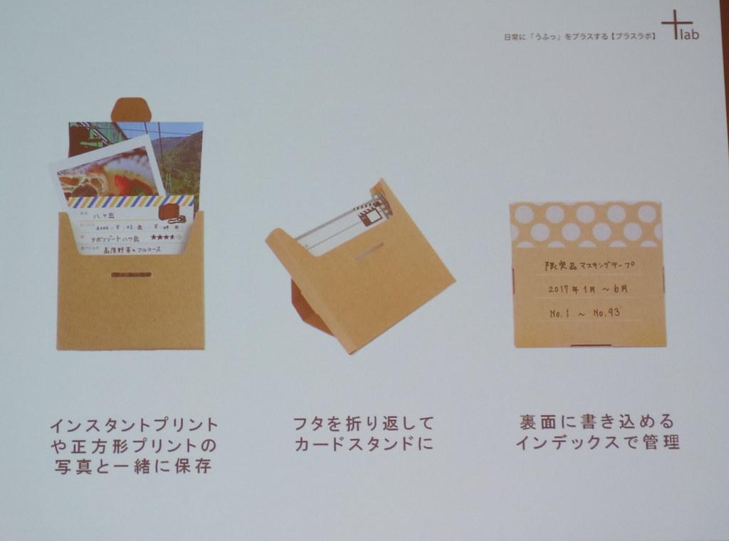 メモ録箱のバリエーション