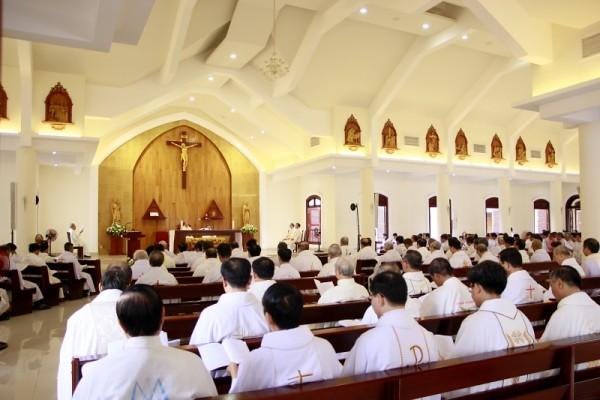 Sài Gòn Tuần Thường Huấn Linh Mục Tổng Giáo phận Sài Gòn 2017