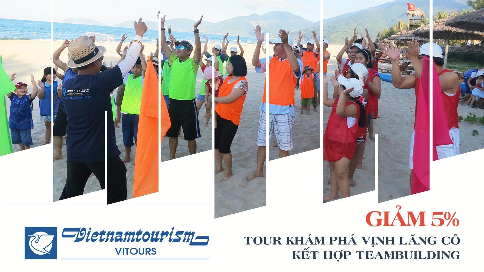 Vitours | Giảm 5% Tour tham quan Vịnh Lăng Cô kết hợp team building 1