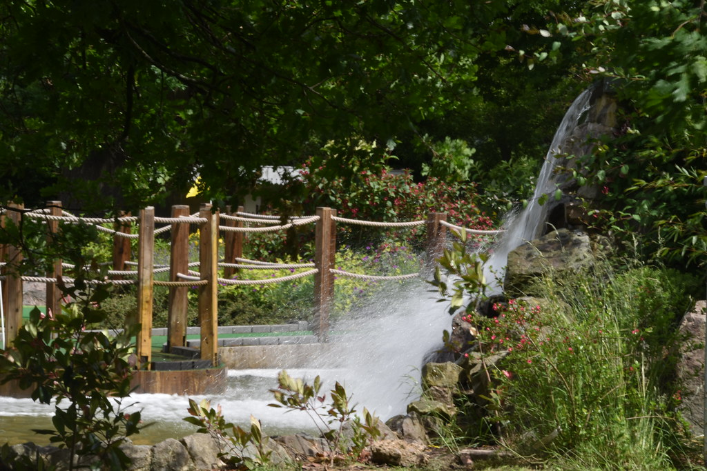 Water Fall, Cannon Hill Park