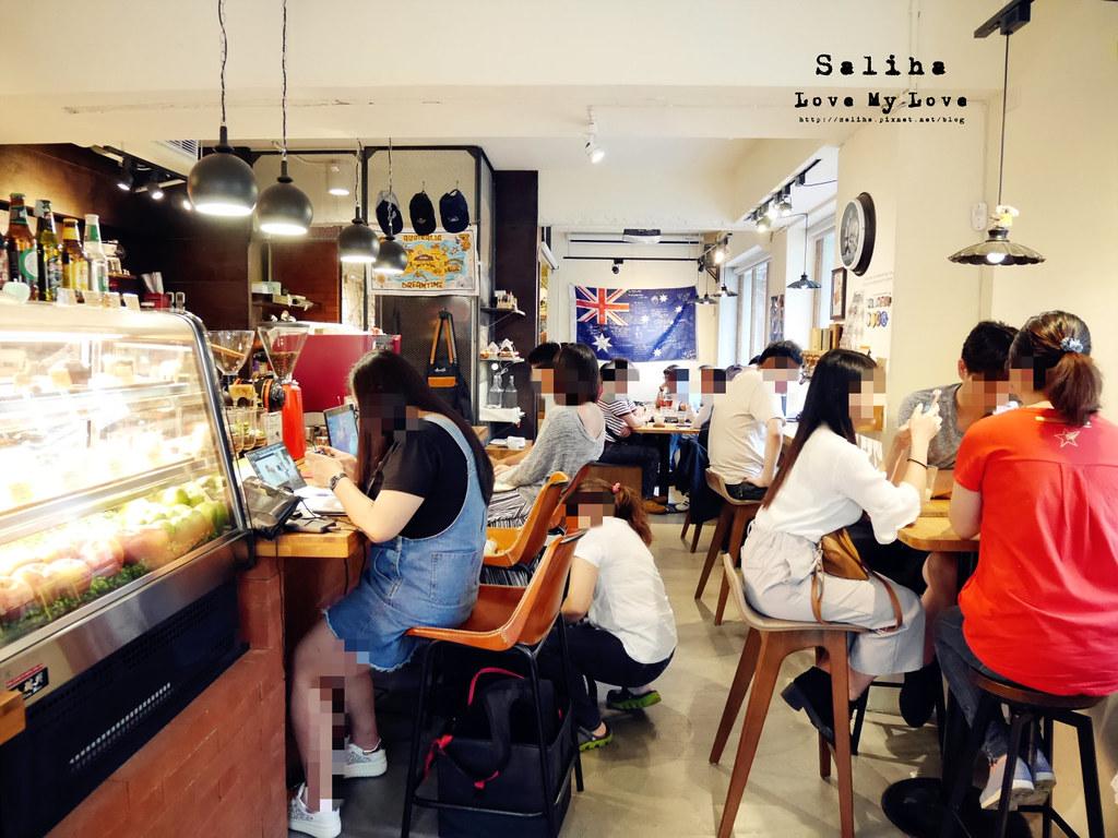 台北中山區咖啡館推薦Aussie Cafe 澳氏咖啡早午餐 (34)