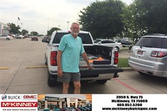 #HappyBirthday to Rick from Brett Stein at McKinney Buick GMC!
