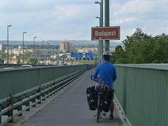 Arrivée dans la capitale hongroise