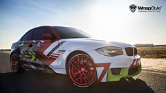 BMW M2 - Madness Vinyl design