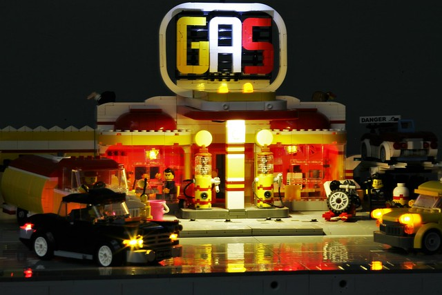 [MOC] Gas station