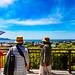 View Sagami Bay from Hasekan Kannon : 長谷観音より相模湾の展望