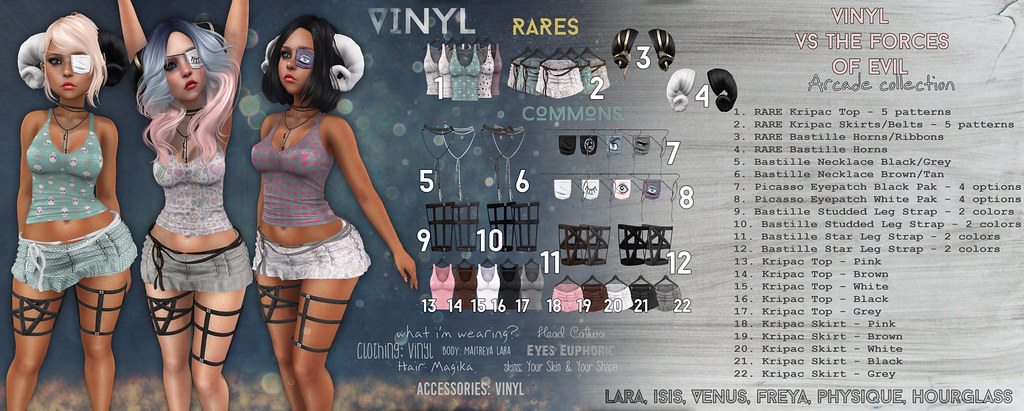 Vinyl @ Arcade Preview - SecondLifeHub.com