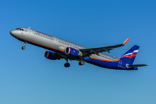 VP-BAE | Aeroflot - Russian Airlines | Airbus A321-200 (sharklets)