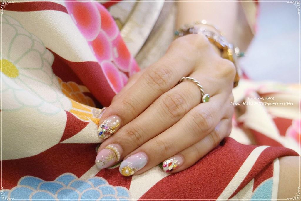La reine菈韓娜國際美甲 大理石晶石(14)