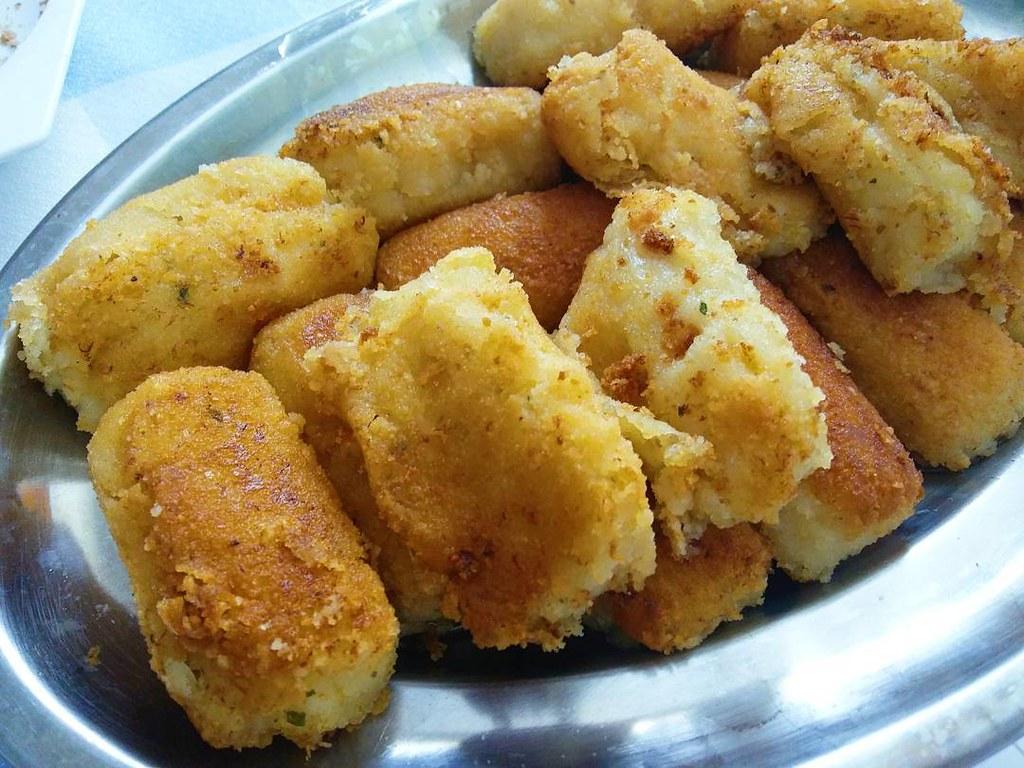 Croquetas caseras de la suegra. #croquetas #delicious #deliciousfood #photography #phonephoto #vsco