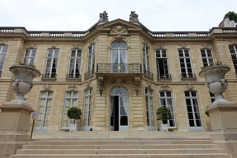 Facade @ Jardin de l'Hôtel Matignon @ Paris