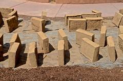 Santa Fe, San Miguel Chapel, adobe bricks,