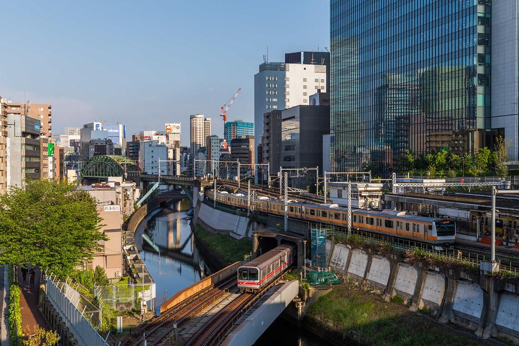 Tokyo Metro meets JR East