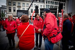 En rue avec le FGTB pour appeler le gouvernement Michel à changer de cap pour de bons emplois pour tout le monde, un meilleur pouvoir d'achat, une fiscalité équitable !