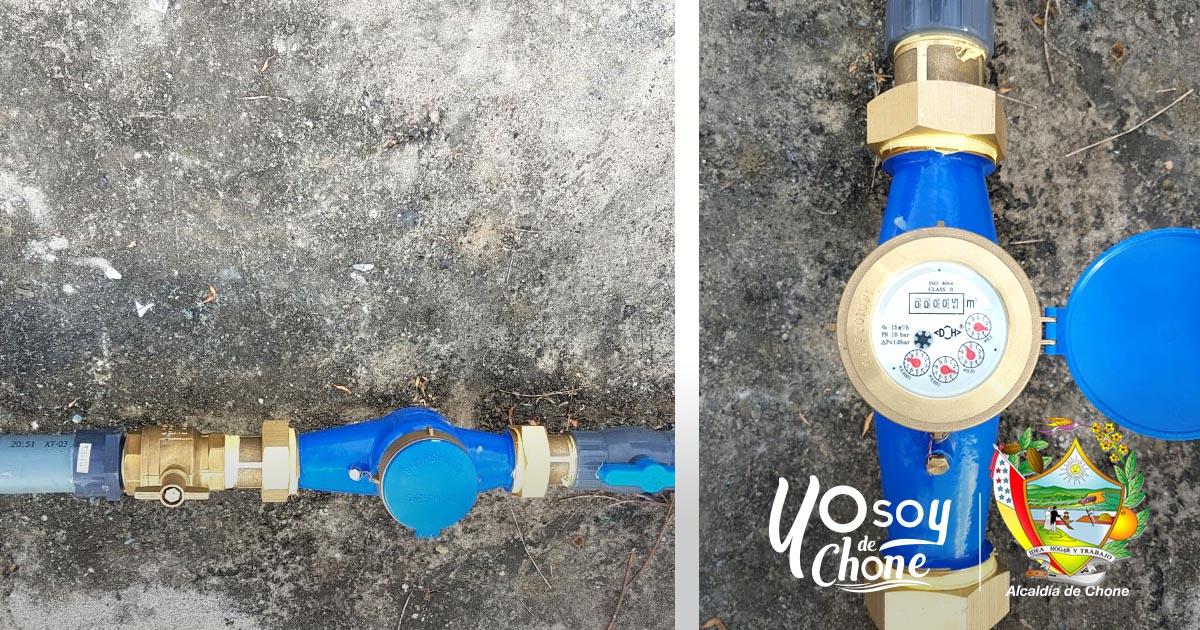 Empresa de Agua Potable inicio campaña de instalación de medidores