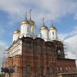 Престольный праздник в станице Запорожская
