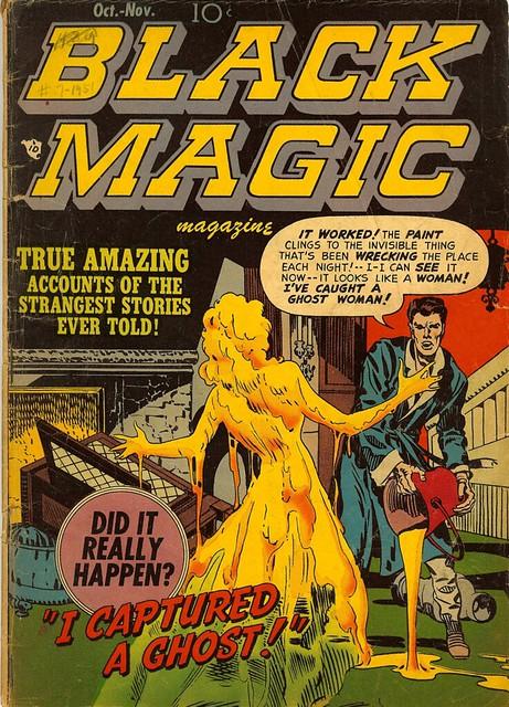 Black Magic Magazine--Before