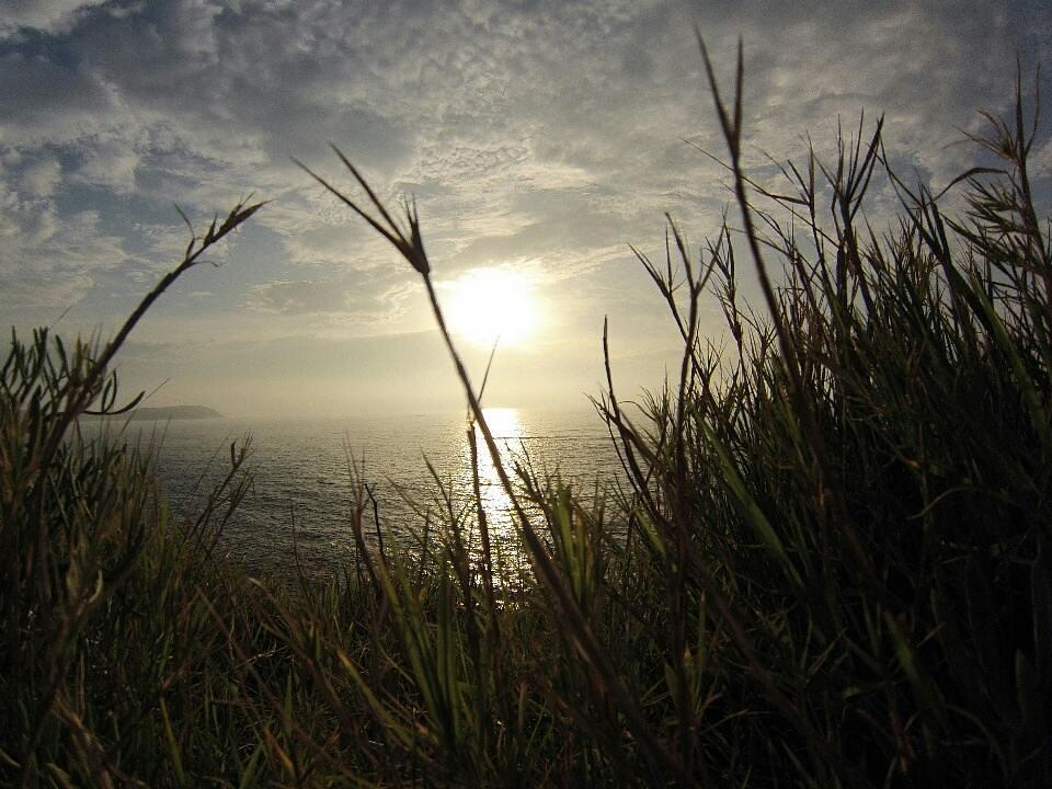 Puesta de sol mientras corría ayer jueves. #Coruña #photography #sunset #gopro #whilerunning
