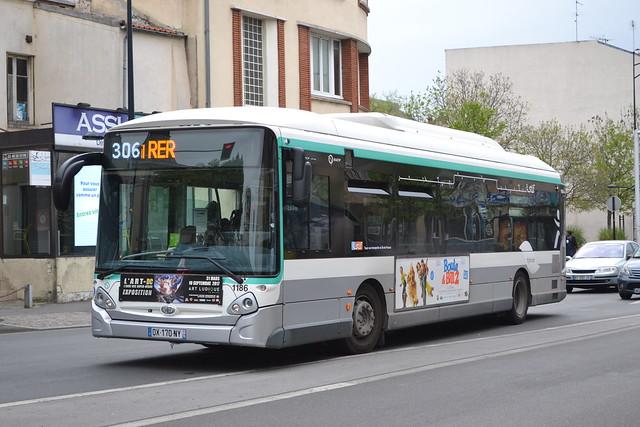 RATP Paris 1186 DX-170-NY