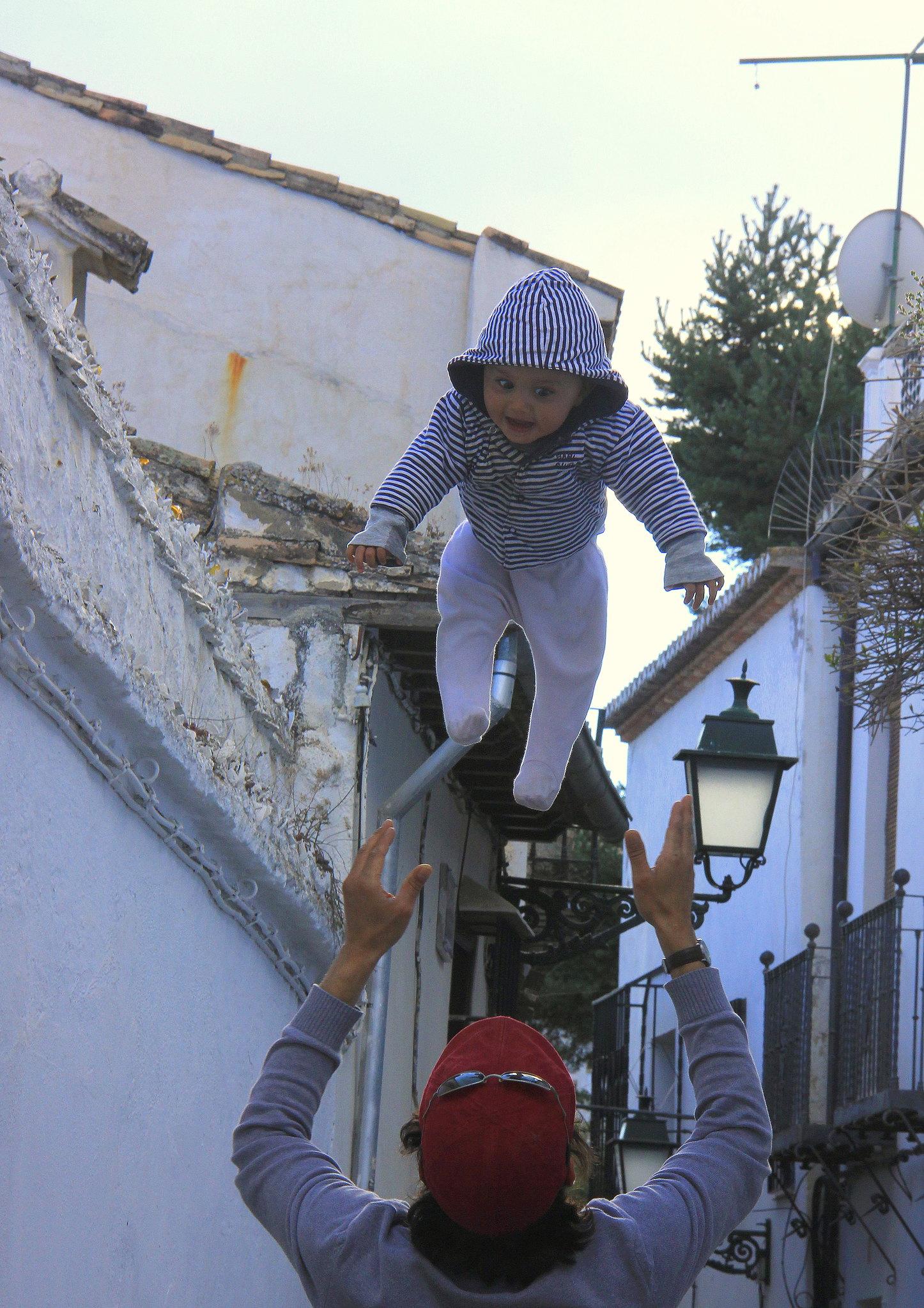 Tourists visit albaicin in Granada