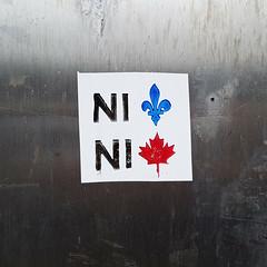 Ni Québec, ni Canada