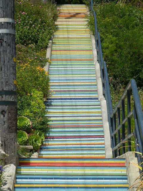 stairs, Panasonic DMC-FZ100