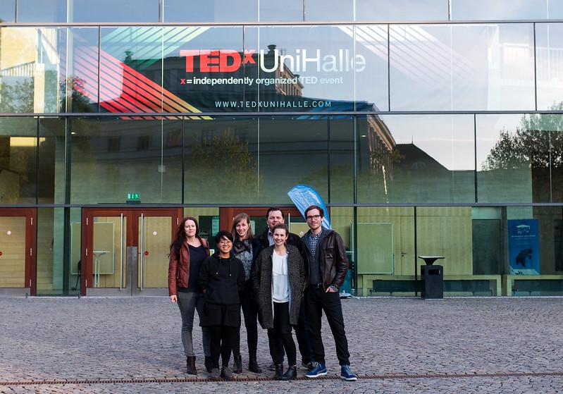 Team members of TEDxUniHalle