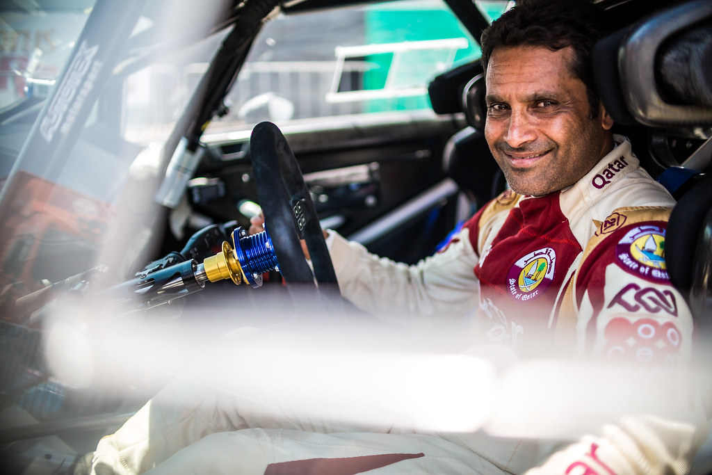 AL ATTIYAH Nasser (qat) NASSER AL-ATTIYAH FORD FIESTA R5 ambiance portrait during the 2017 European Rally Championship ERC Cyprus Rally,  from june 16 to 18  at Nicosie, Cyprus - Photo Thomas Fenetre / DPPI