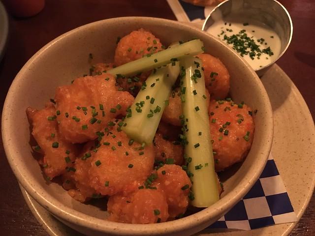 Buffalo crispy shrimp - Finn Town