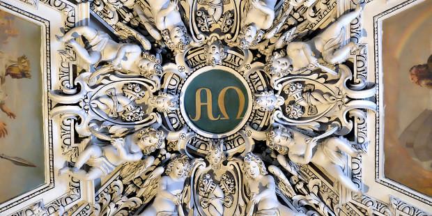 Alpha và Omega có ý nghĩa gì trong nghệ thuật Kitô giáo?