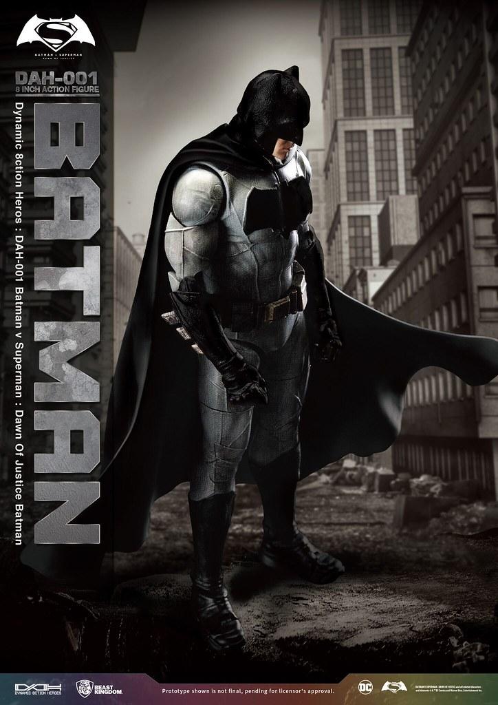 野獸國 究極英雄系列 DAH-001 蝙蝠俠對超人:正義曙光【蝙蝠俠】Batman v Superman: Dawn of Justice Batman