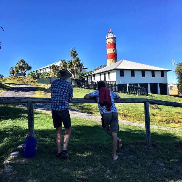Sam and Keiran's former home. Moreton Island, Queensland.