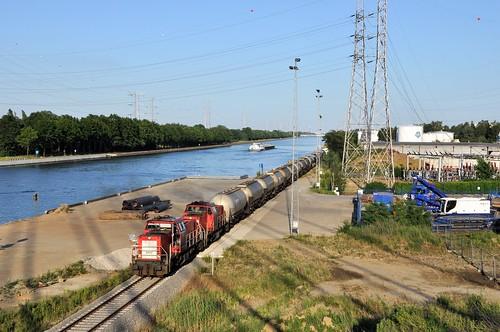Vertrek van de tweede zaterdagse PTA trein vanuit BP Geel