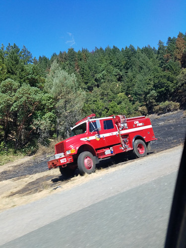 Fire at Russian River