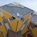 Condos jaunes, Rotterdam, Hollande - 2445