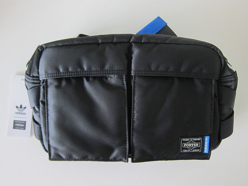 Adidas Originals x PORTER 2 Way Waist/Shoulder Bag - Front View