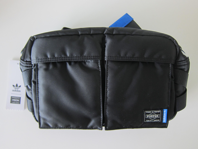 Adidas Originals x PORTER 2 Way Waist Shoulder Bag - Front View 9c973bf82d14f