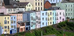 Pastel Houses Tenby