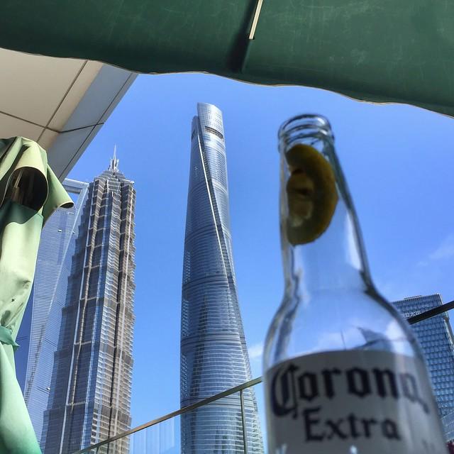 Los 3 rascacielos de Shanghai