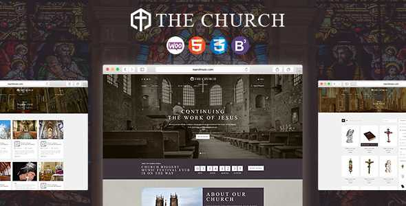 Church WordPress Theme free download